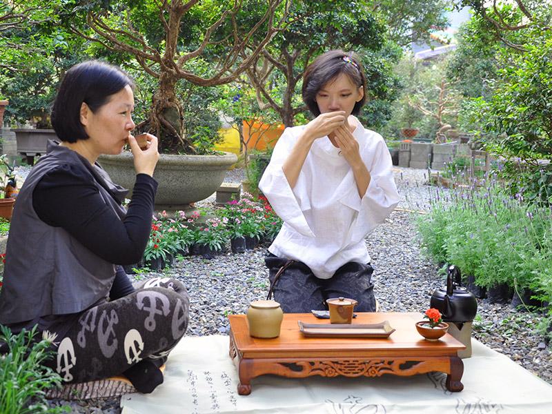 名間香茗園行動茶師‧樹葡萄